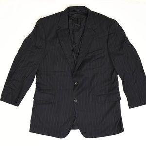 Jos A Bank Big & Tall 46L Black   Sport Coat Blaze